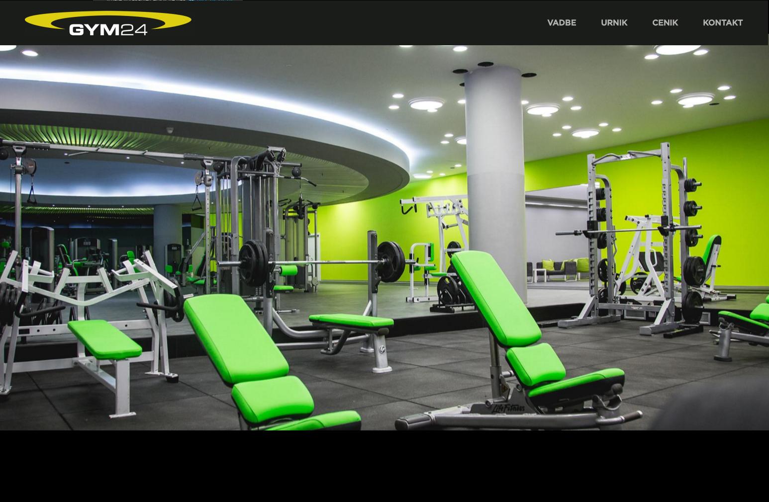 Gym24 stran
